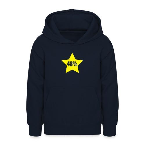 48% in Star - Teen Hoodie