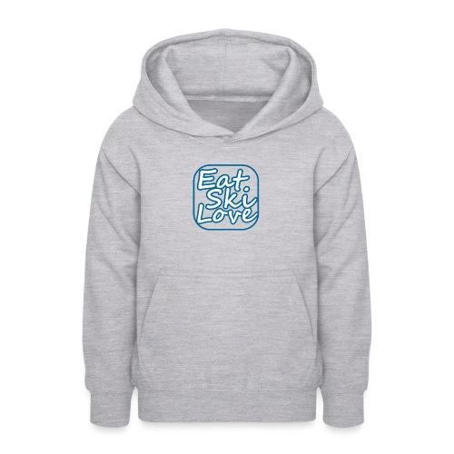 eat ski love - Teenager hoodie