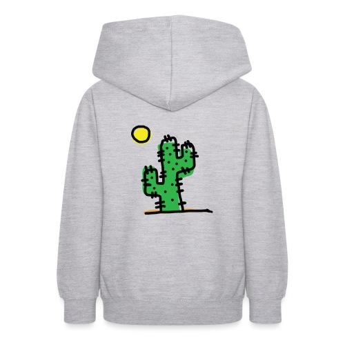 Cactus single - Felpa con cappuccio per teenager