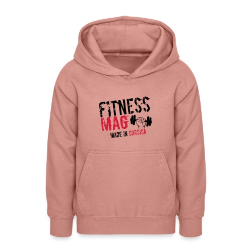 Fitness Mag made in corsica 100% Polyester - Sweat à capuche Ado