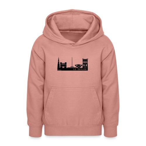 Lu skyline de Terni - Felpa con cappuccio per teenager