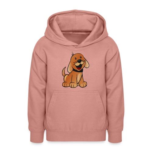 cartoon dog - Felpa con cappuccio per teenager