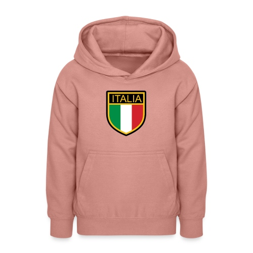 SCUDETTO ITALIA CALCIO - Felpa con cappuccio per teenager