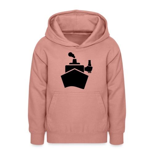 King of the boat - Teenager Hoodie