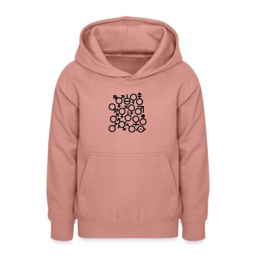 Multi Gender B/W - Teenager hoodie