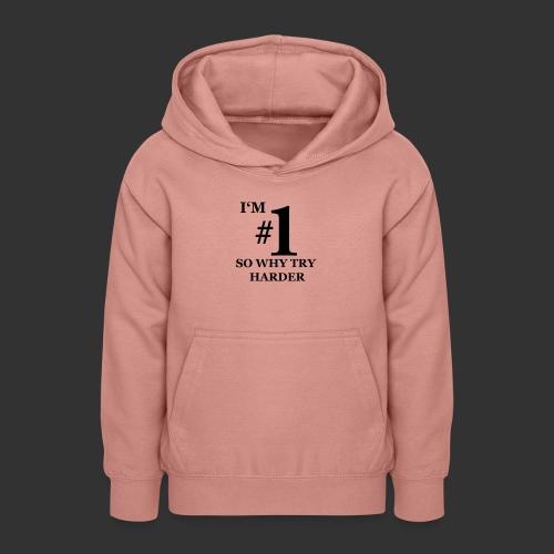 T-shirt, I'm #1 - Luvtröja tonåring