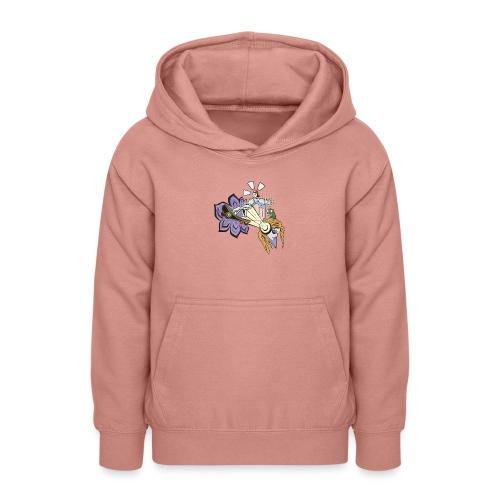 Spring Doodle - Teenager hoodie