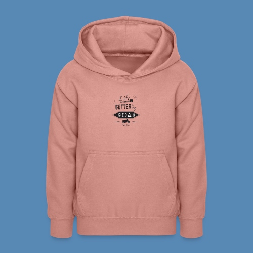Moto - Life is better on the road - Sweat à capuche Ado