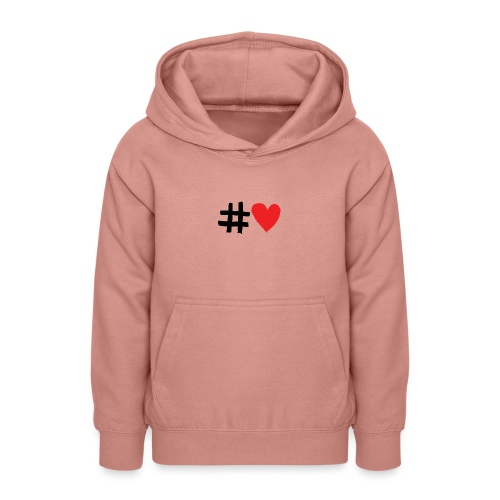 #Love - Teeneager hoodie