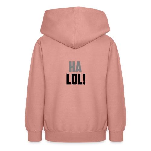 The CrimsonAura 'Ha LOL!' Stream Quote. - Teen Hoodie