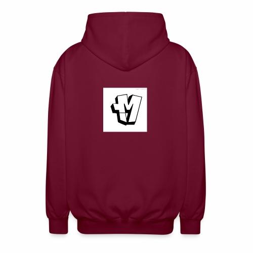 graffiti alphabet m - Unisex Hooded Jacket