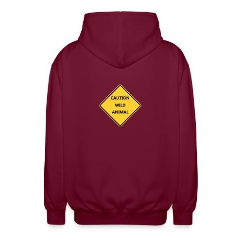 Caution Wild Animal - Veste à capuche unisexe