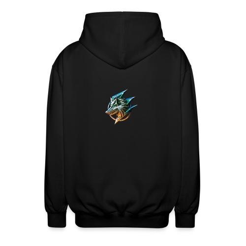 AZ GAMING WOLF - Unisex Hooded Jacket