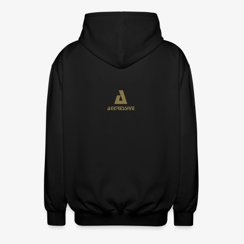 Aggressive Brand - Chaqueta unisex con capucha.