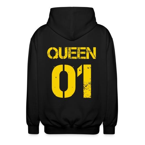 Queen - Rozpinana bluza z kapturem unisex