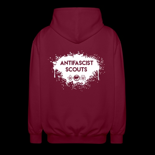 Antifascist Scouts - Unisex Hooded Jacket