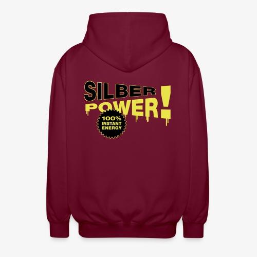 SilberPower! - Unisex hættejakke.