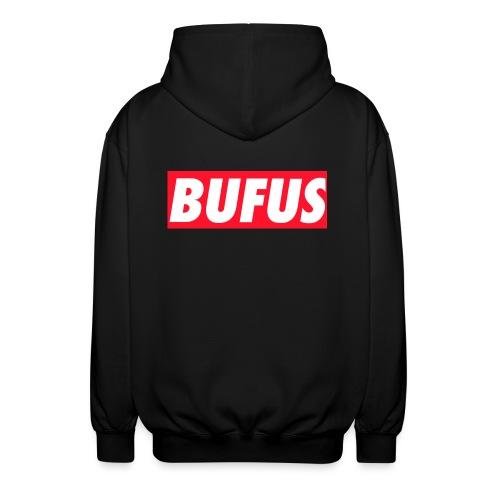 BUFUS - Felpa unisex con cappuccio