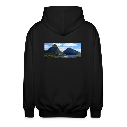 believe in yourself - Unisex Hooded Jacket