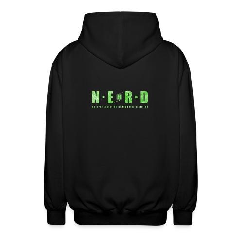 NERD Green - Unisex hættejakke.