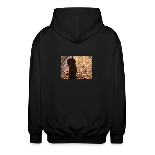 THE GREEN MAN IS MADE OF AUTUMN LEAVES - Unisex Hooded Jacket