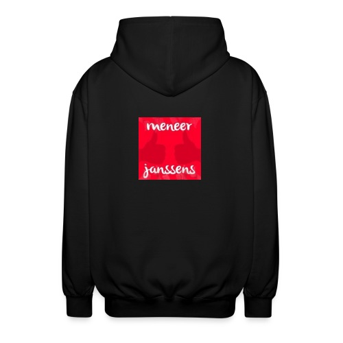 Sweater Meneer Janssens - Uniseks hoodie