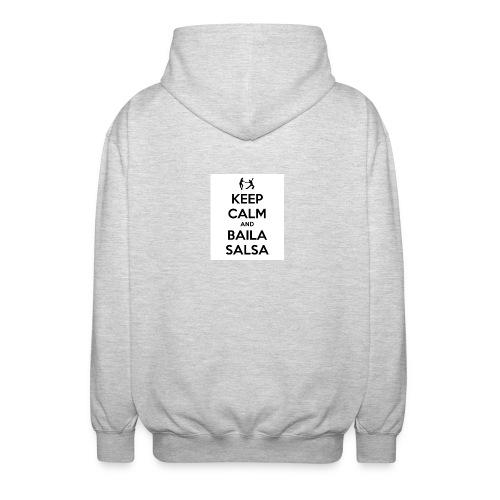 keep-calm-and-baila-salsa-41 - Felpa unisex con cappuccio