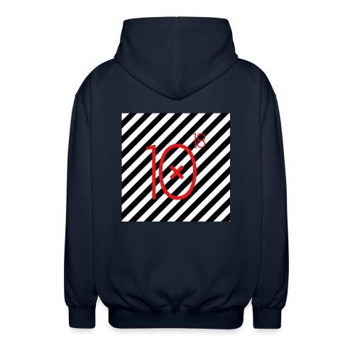 Stripes Hoodie - Rozpinana bluza z kapturem unisex