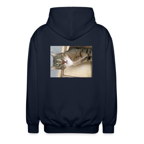 Kotek - Rozpinana bluza z kapturem unisex