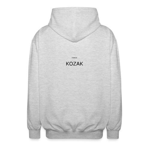 KOZAK - Rozpinana bluza z kapturem unisex