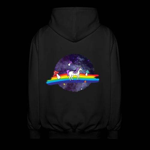 Mushroom Unicorn in Space Hoodie - Unisex Hooded Jacket
