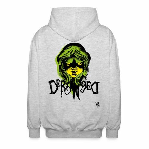 DerangeD - Tattoo Metal Horror Vampire - Unisex hættejakke.