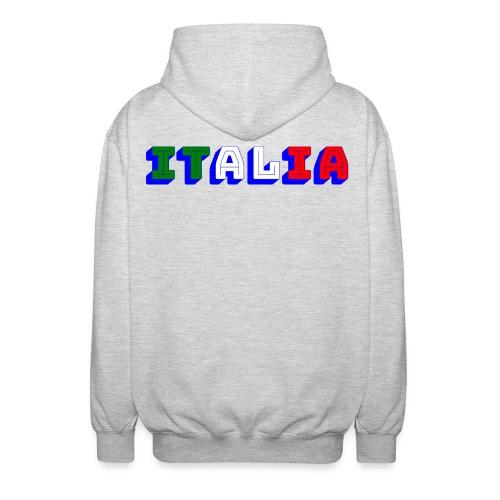 Italia - Felpa unisex con cappuccio