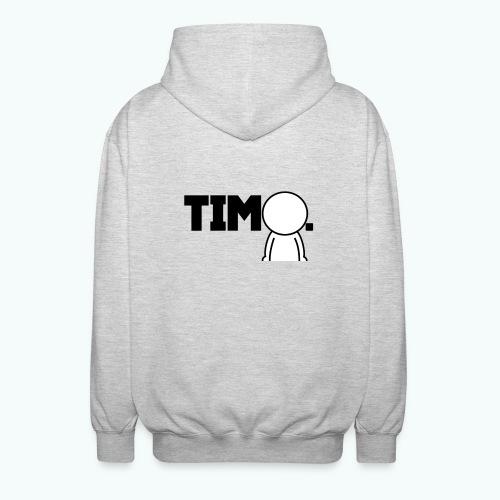 Design met ventje - Uniseks hoodie