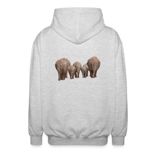 elephant 1049840 - Felpa unisex con cappuccio