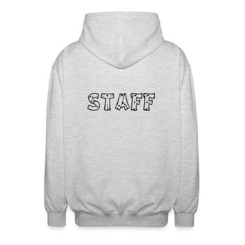 STAFF - Felpa unisex con cappuccio