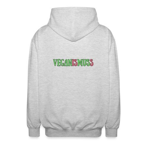 veganismuss - Unisex Kapuzenjacke