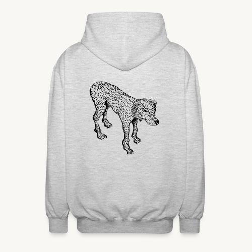 Hund - Unisex Kapuzenjacke