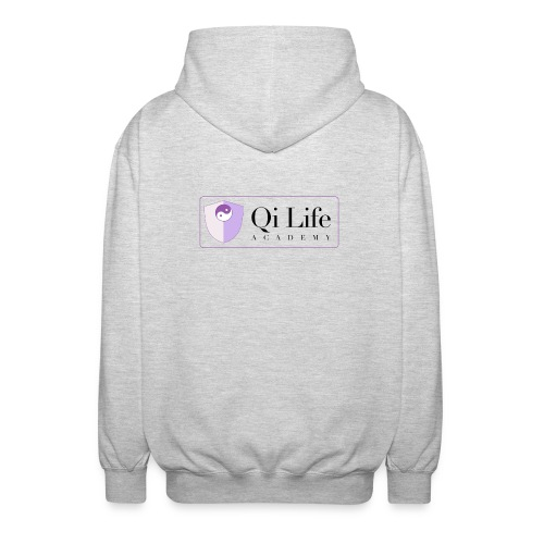 Qi Life Academy Promo Gear - Unisex Hooded Jacket