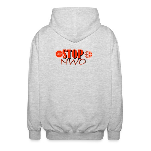 STOPNWO1 - Rozpinana bluza z kapturem unisex
