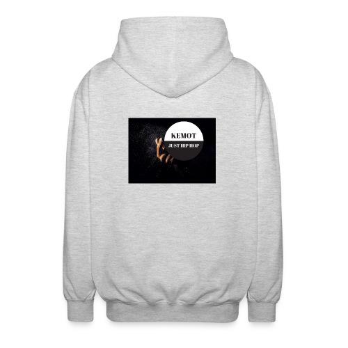 KeMoT odzież limitowana edycja - Rozpinana bluza z kapturem unisex