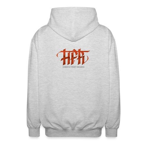 HFR - Logotipo fatto a mano - Felpa unisex con cappuccio