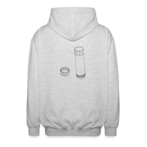 Gluestick (no text). - Unisex Hooded Jacket
