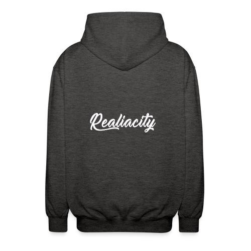Realiacity Logo - Chaqueta unisex con capucha.