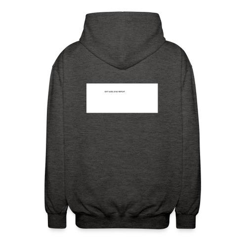 eat sleep sing - Unisex Hooded Jacket