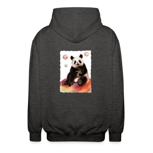 Panda World - Felpa unisex con cappuccio