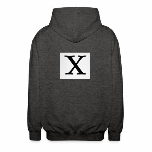 THE X - Unisex Hooded Jacket