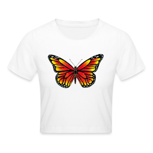 Sommerfugl - Crop T-Shirt