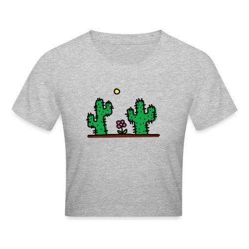 Cactus - Maglietta crop