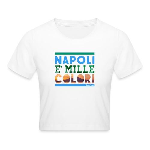 Napoli è mille colori - Maglietta crop